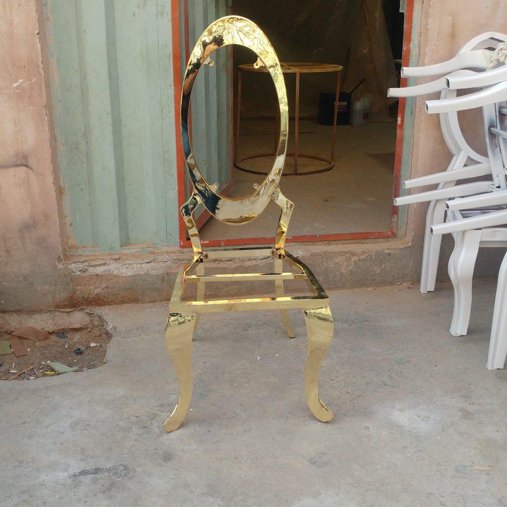 صندلی تالار+صندلی تالاری+صندلی طلایی مبله تالار+میز ابکاری طلایی تالار