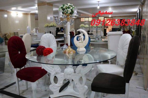 میز و صندلی تالار