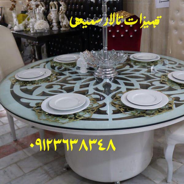 table of hall6 میز تالار با بالاترین کیفیت و زیبایی م ناسب و شکیل برای سالن ها